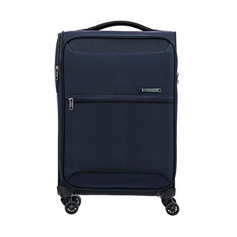 Samsonite 72H DLX Spinner Unisex Small Blue Polyamide Luggage Bag DC6041001