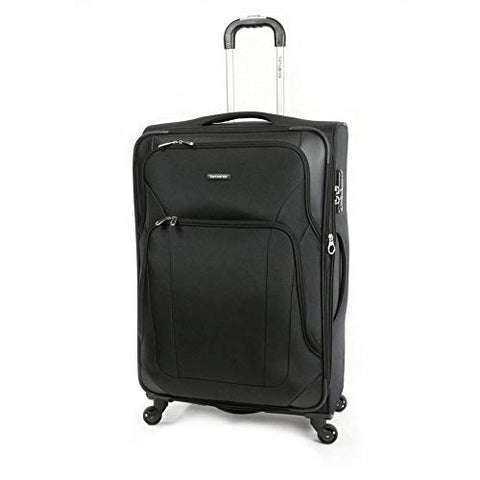Samsonite Dakar Lite Carry-On Luggage Large Black Travel Bag