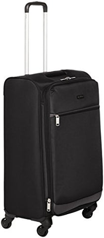 Amazonbasics Softside Spinner Luggage - 29-Inch, Black