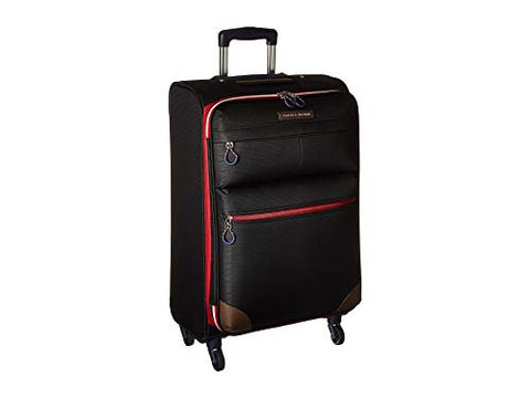 "Tommy Hilfiger Unisex Glenmore 25"" Upright Suitcase Black One Size"