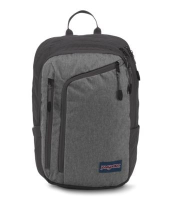 JanSport Platform Laptop Backpack - Black White Herringbone