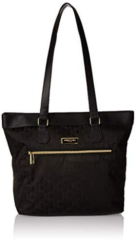 "Kenneth Cole Reaction Women's New York Kc Street Jacquard 15"" Laptop Tote Black One Size"