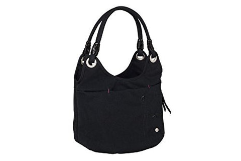 Haiku Women'S Stroll Eco Shoulder Bag, Black