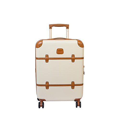 "Bric'S Milano Bellagio 21"" Carry-On Spinner (Cream)"