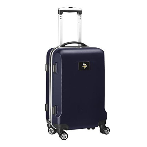 Nfl Minnesota Vikings Carry-On Hardcase Spinner, Navy