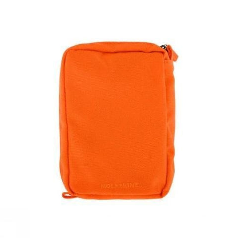 Moleskine Multipurpose Pouch, Medium, Cadmium Orange (4.5 x 2.5 x 1.5)