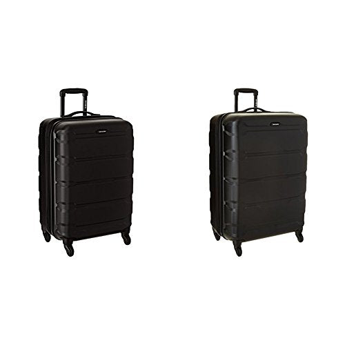 "Samsonite Omni PC Hardside Spinner Set (24""/28""), Black"