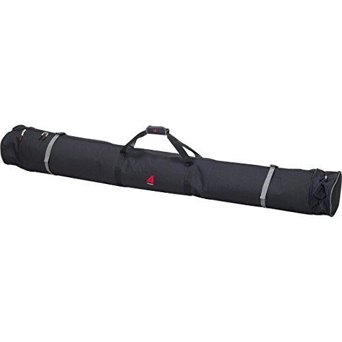 Athalon Expanding Padded Double Ski Bag (Black, 170/185/200cm)