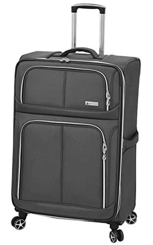 "London Fog Northwood 28"" Expandable Spinner, Dark Grey"