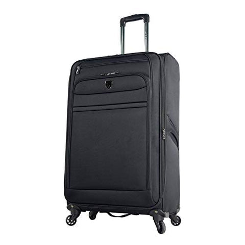 Travelers Polo & Racquet Club Softside Expandable Spinner Suitcase, 28