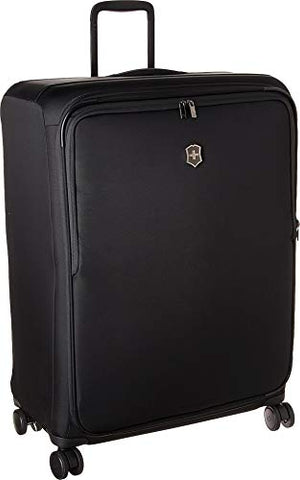 Victorinox Connex Extra-Large Softside Checked Spinner Luggage (Black)