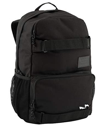 Burton Treble Yell Backpack, True Black, Laptop, Skate, School Bag