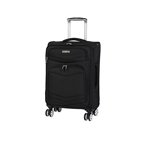 "it luggage Intrepid 22"" 8 Wheel Spinner, Black"