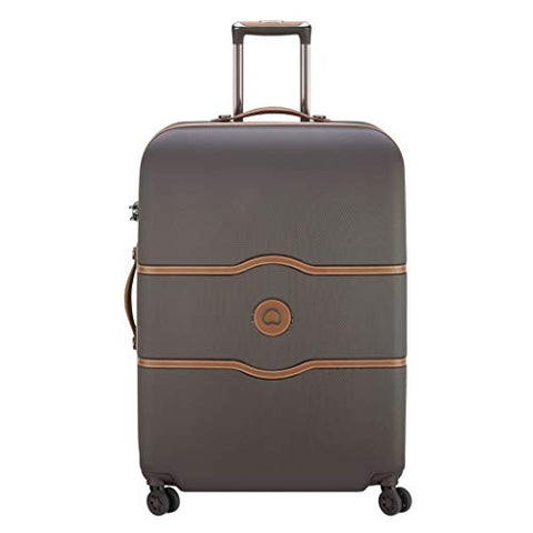 Delsey Unisex-Adult's Suitcase, Chocolate