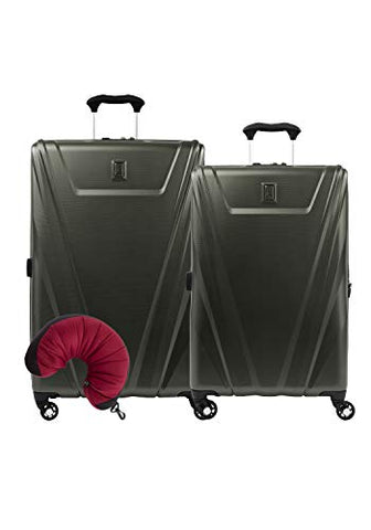 Travelpro Maxlite 5 Hardside 3-Pc Set: Expandable 25-Inch And 29-Inch Spinner With Travel Pillow