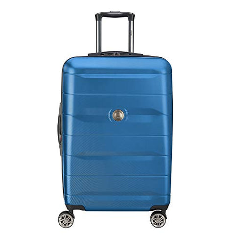 "DELSEY Paris Comete 2.0 24"" Expandable Spinner, Steel Blue"
