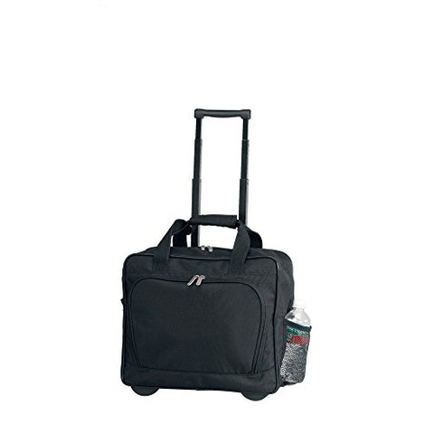 Preferred Nation Bellino On the Go Rolling Wheel Business Briefcase, Black (4511)