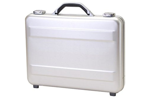 T.Z. Case International T.z Slimline Molded Aluminum Attache Case 18 X 13 X 3 in, Silver
