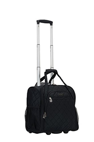 Rockland Wheeled Underseat Carry-On, Black, One Size