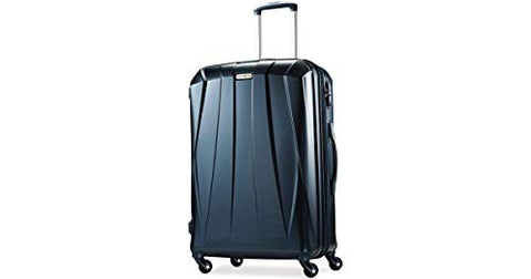 "Samsonite Vibratta Hardside 21"" Carry-on Expandable Spinner Luggage Teal"