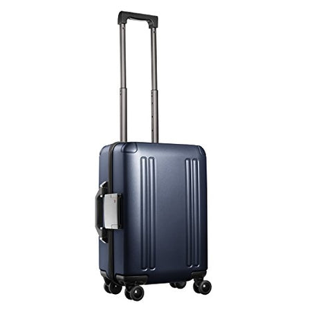 "Zero Halliburton Zro - 20"" Int'l Carry-on 4-Wheel Spinner Travel Case, Gun Metal"