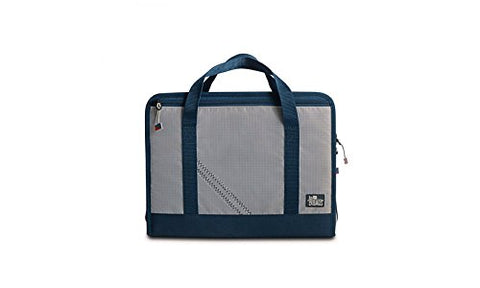 SailorBags Silver Spinnaker Utility Case (Silver with Blue Trim)