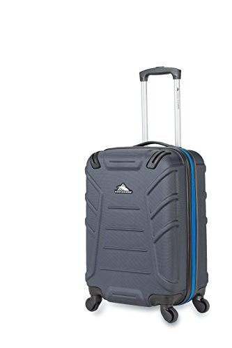 High Sierra Rocshell Hardside Spinner Luggage, Midnight/Vivid Blue, 20""