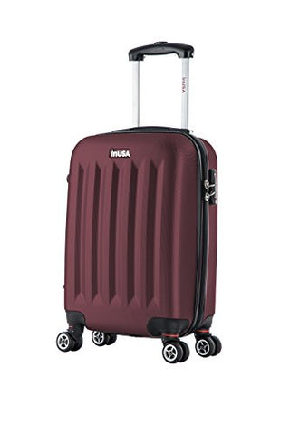 Inusa Philadelphia Lightweight Hardside Spinner 19 Inch Carry-On