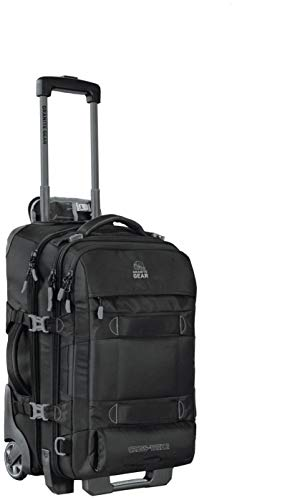 Granite Gear Cross Trek 2 Wheeled Carry-On Duffel - Black/Flint 22""