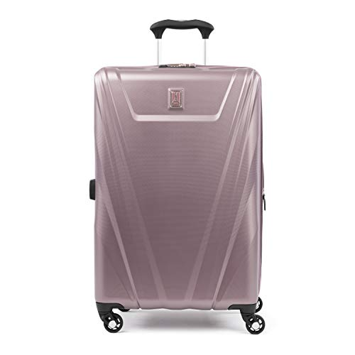 Travelpro Maxlite 5 25-Inch Expandable Hardside Spinner Luggage, Dusty Rose