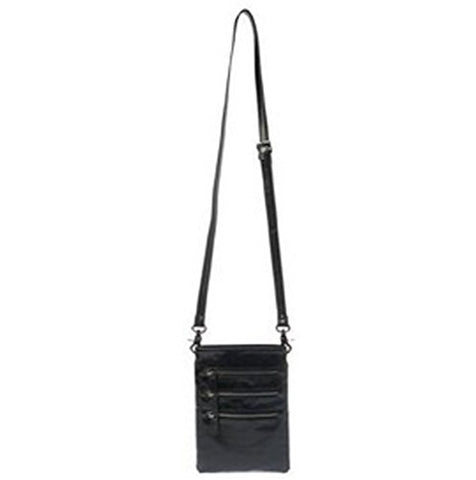 Shiraleah Harper Cross Body Pouch Daypack, Black
