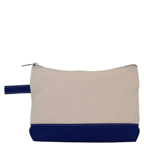 Personalized Makeup Bag (Royal Blue)