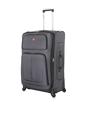 "Swissgear Sion 29"" Dark Grey Suitcase, Dark Grey"