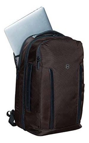 Victorinox Almont Professional Deluxe Travel Laptop Backpack Business, Dark Earth, One Size