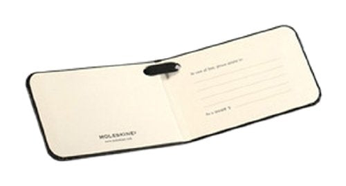 Moleskine Luggage Tag, Black (3.75 x 2.25)