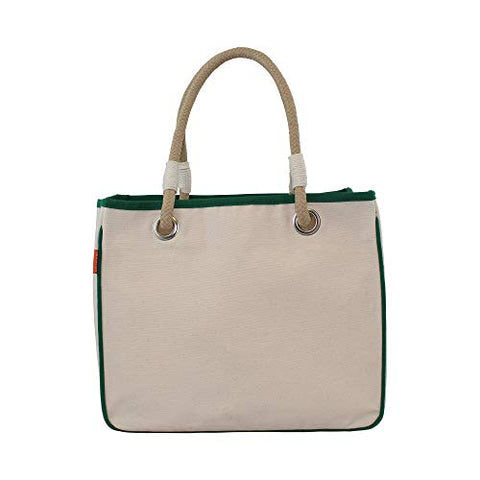 Rope Tote Emerald