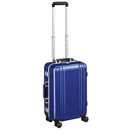 "Zero Halliburton Classic Polycarbonate 2.0-19"" Carry-on 4-Wheel Spinner, Blue"