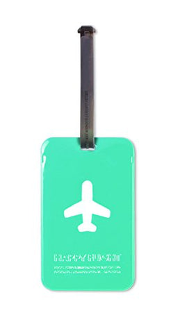 ALIFE DESIGN SQUARED LUGGAGE TAG (BLUE)