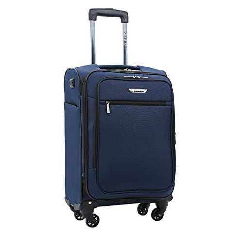Travelers Club 20 Inch Carry On, Navy Blue