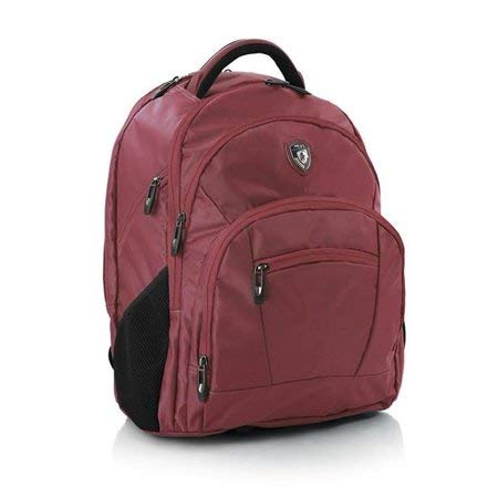 Heys International 20046-0003-00 TechPac 06 Laptop Tablet Travel Business School Bag, Red