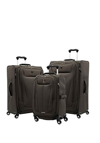 "Travelpro Luggage Maxlite 5 | 3-Pc Set | 21"" Carry-On, 25"" & 29"" Exp. Spinners (Mocha)"