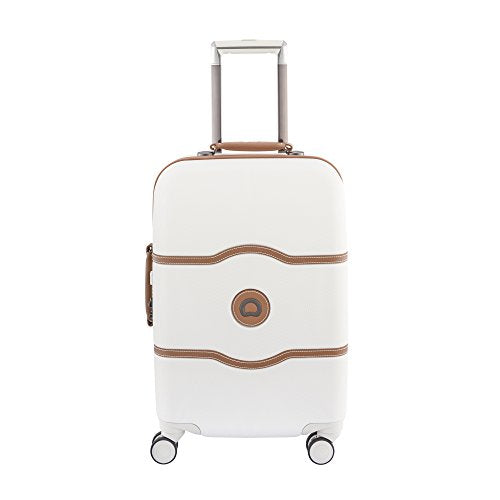 Delsey Luggage Chatelet Hard+ 28 Inch 4 Wheel Spinner Luggage, Champagne