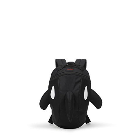 Darling'S Killer Whale / Orca Design Lightweight Mini Backpack - Small - Black