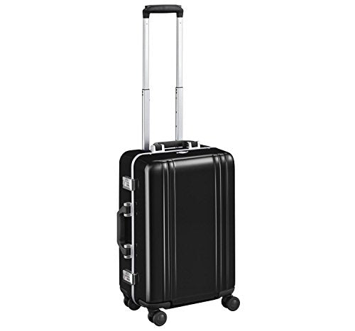 "Zero Halliburton Classic Polycarbonate 2.0-22"" 4-Wheel Travel Case, Black"