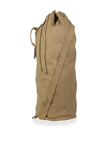 Parson Gray Cavalry Duffel Bag Size: Large, Color: Sand