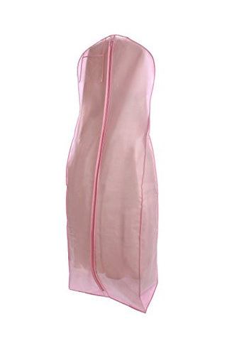 Pink Wedding Gown Travel & Storage Garment Bag By Bags For Less – Soft, Breathable, Durable, Rip