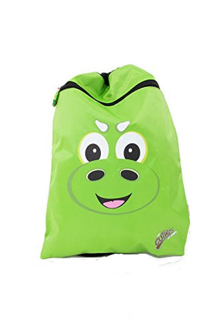 Cuties And Pals Drawstring Backpack Shoe Bag - Dinosaur