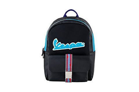 Vespa V-Stripes Backpack Black/Red