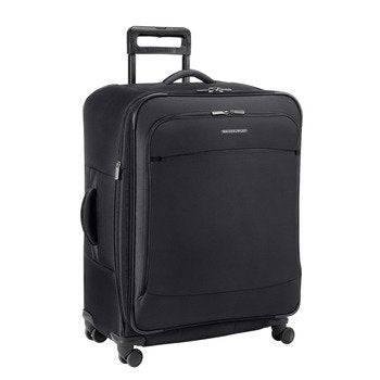 Briggs & Riley Transcend Expandable Suitcase, Black, One Size