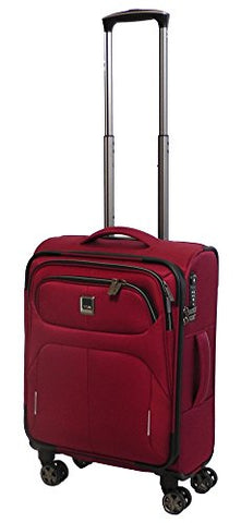 "Titan Nonstop International Carryon Lightweight Spinner Suitcase 22"" (Red)"